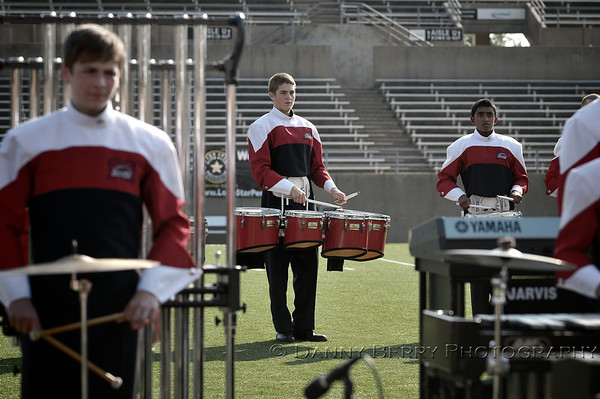 Plano Drum Line Competition 2012