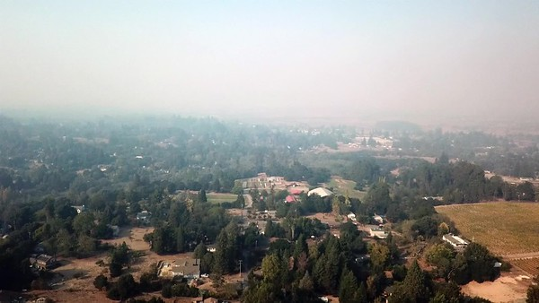 smoky panorama
