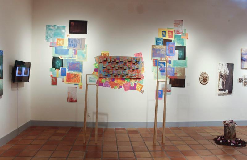 BFA & BA Senior Portfolio Exhibition Spring 2017, Installation View