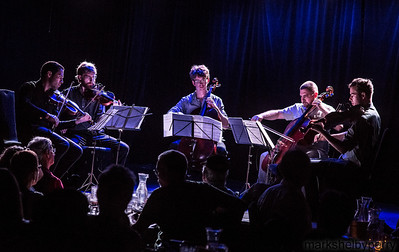 JACK Quartet with Joshua Roman at LPR, June 2013