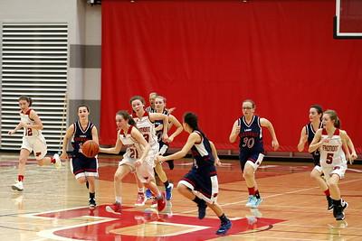 Girls Freshman Basketball - 1/20/2016 Big Rapids