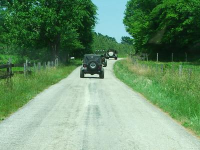 Jeremy's jeep trip