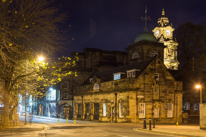 Lancaster Town Hall clock tower