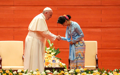 Pope Francis Visit in Myanmar