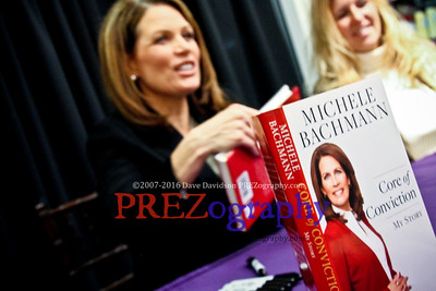 Michele Bachmann Booksigning