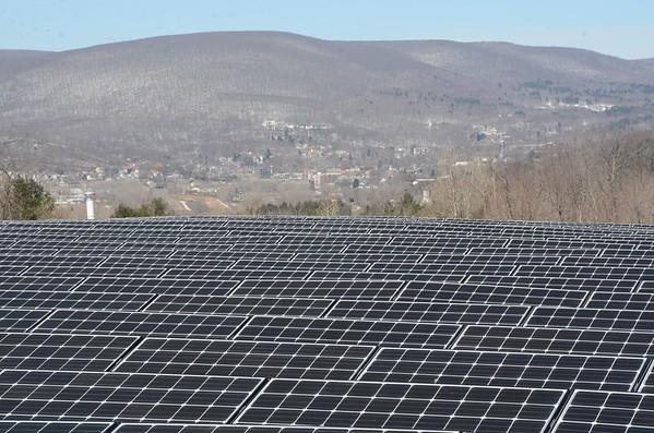 Solar Project at North Adams Landfill-040115