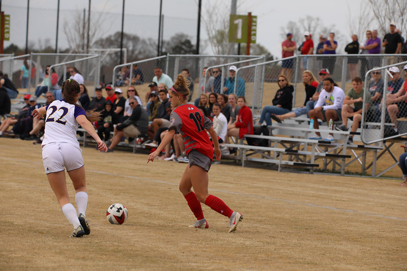 Women's Soccer vs. ECU (Spring 2019)