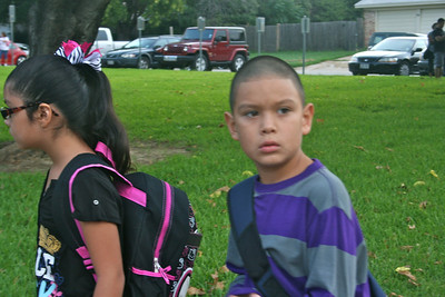 First Day of School, August 27, 2012