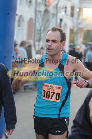 10K Finish - 2011 Wicked Halloween Run