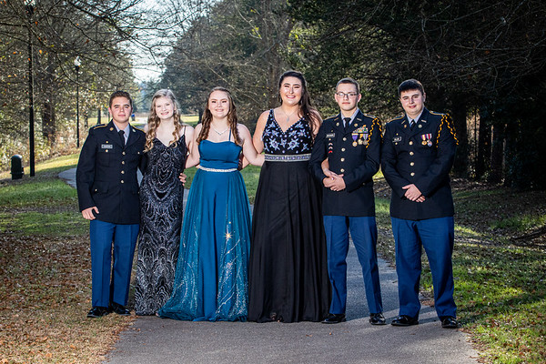 Pelion High School Military Ball 2020 Session