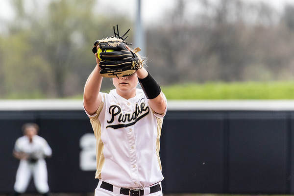Purdue Softball vs Wisconsin Game 1 2017-4-14