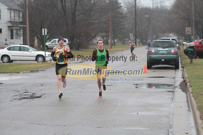 10K at the 1 mile mark - 2012 Run Like the Dickens