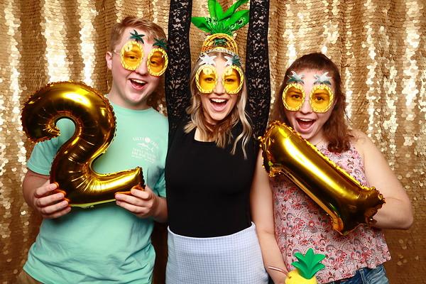 May 14, 2021 at Darby's Grad Party