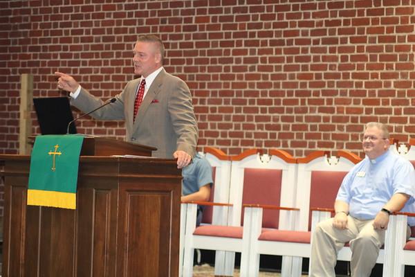 Colonel Coggins' Chapel Message