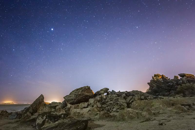Moonlit Butte