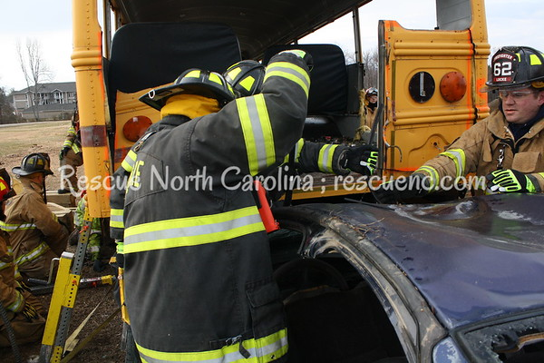 South Salisbury Fire Dept.; Advanced Bus Extrication