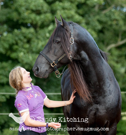 Friesian FUN with Niamh & Holly Sept 2015