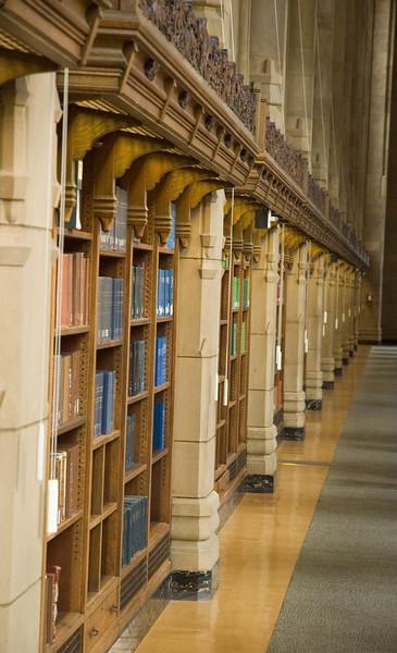 The graduate reading room in Suzzallo Library
