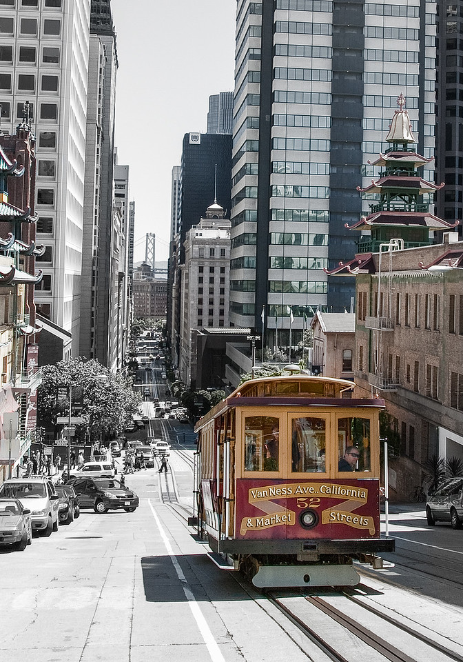 California Street Cable Car #KW-13