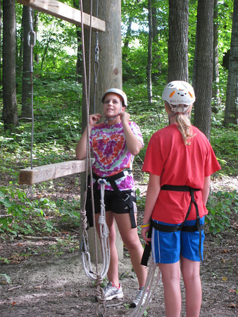 AC HS Hockey Ropes Course by Amber Hegland 2011
