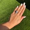 1.75ctw Edwardian Toi et Moi Old European Cut Diamond Ring  44