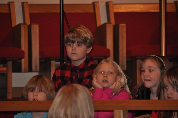 Elim Christmas Sunday School concert