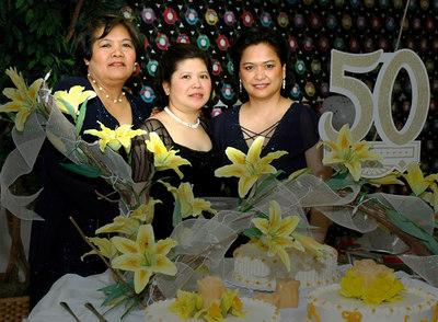 Carina, Cynthia and Lucy's 50th Birthday 3/18/06