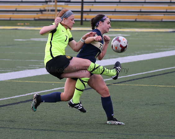 Adrian College vs Trine Women's college soccer