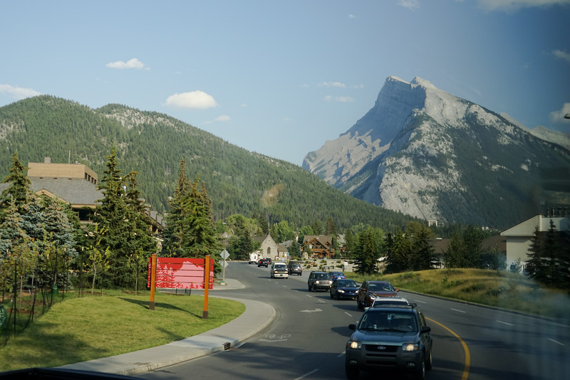 Arrival in Banff, AB