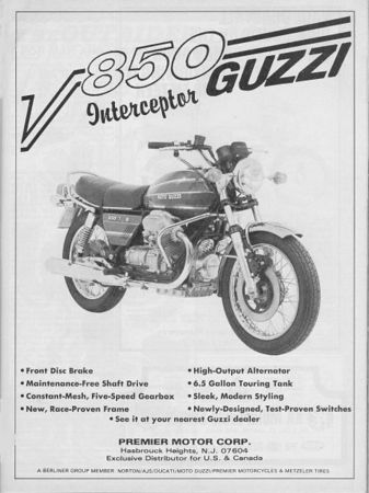 Motorcycle miscellany