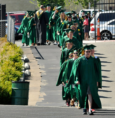 Bishop Manogue Graduation 2012