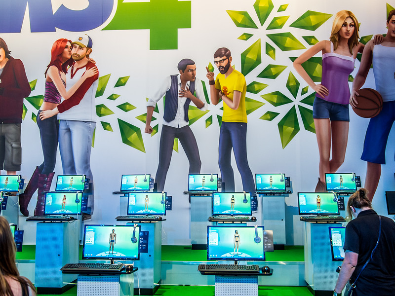 The Sims 4 at Gamescom 2013
