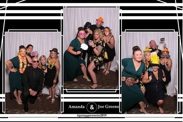 THE WEDDING OF AMANDA AND JOE GREENE
