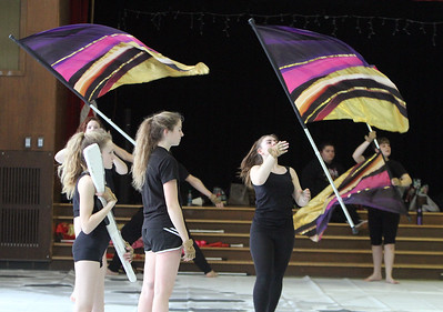 Billerica High Winter Color Guard 030219