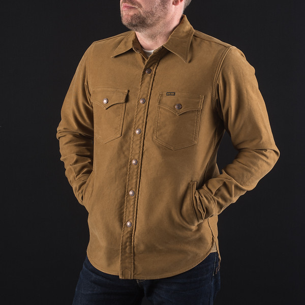Brown Heavy Moleskin CPO Shirt-Jacket-26.jpg