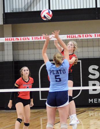 HHS volleyball vs. Plato