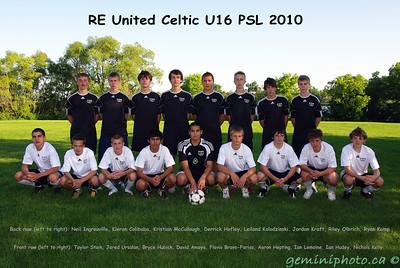 2010 - RE United U16 PSL