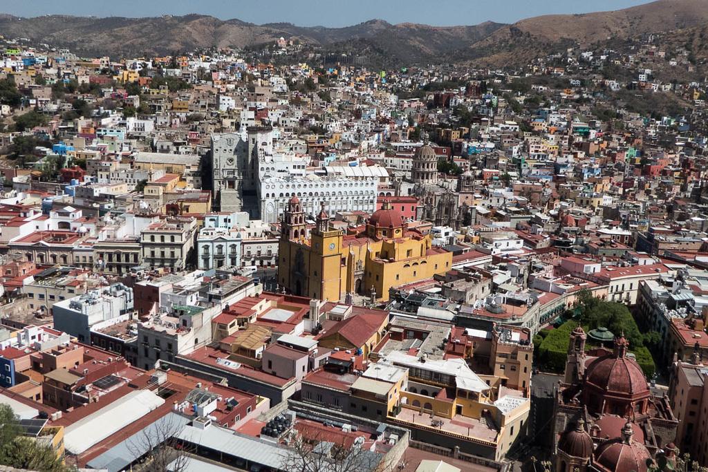 View of Guanajuato Mexico from El Pipila