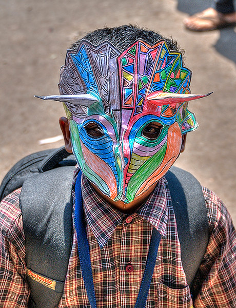 Boy behind the Mask
