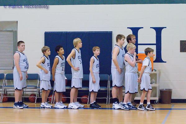 2010-12-10 7th Grade Boys Basketball