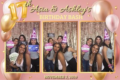 Asia & Ashley's Bday Celebration 11/2/19