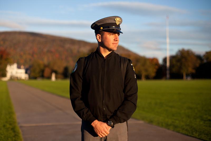 Cadet Harrison Morgan, '13, E1