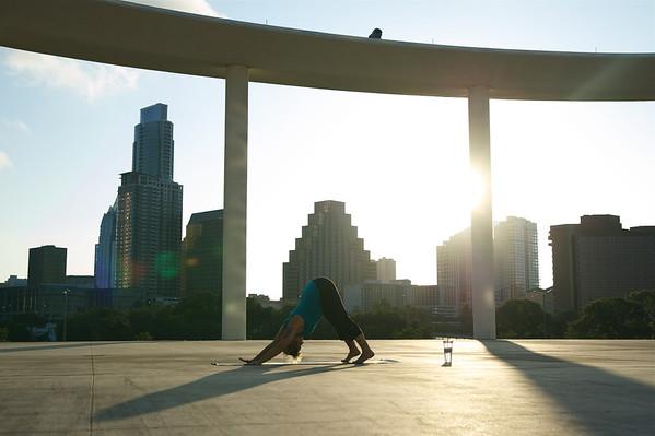 Leigh Does Yoga