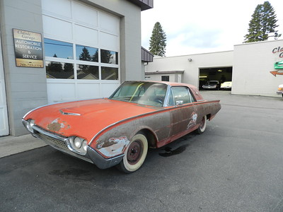 1962 Ford Thunderbird M Code Coupe Project