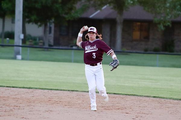 Western Christian baseball versus Spirit Lake 6-3-19