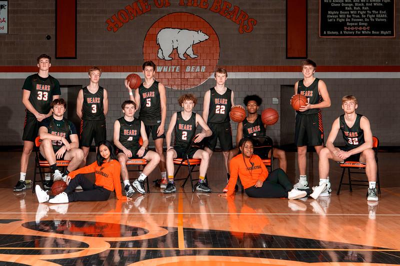 Boys Basketball Portraits 2021