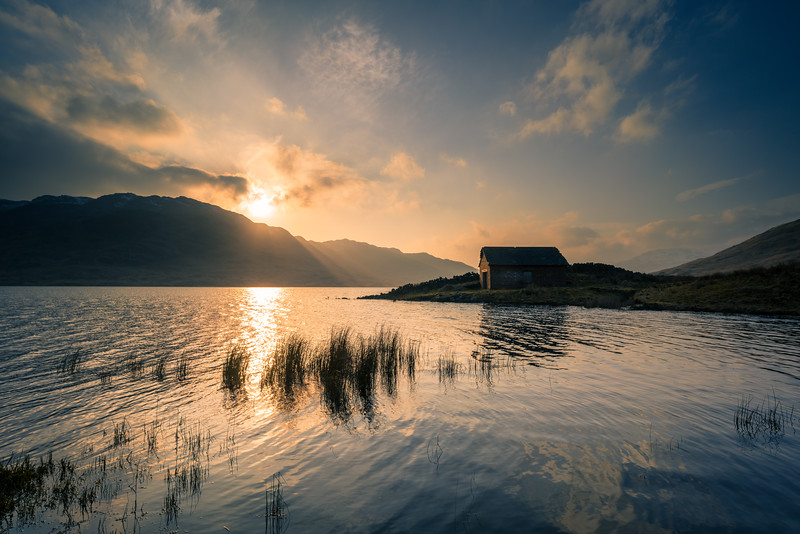 Loch Arklet - Old Boathouse