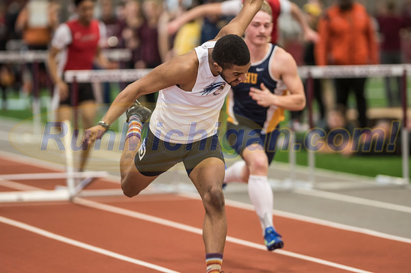 WHAC Indoor Track 2017 - Men's  Hurdles