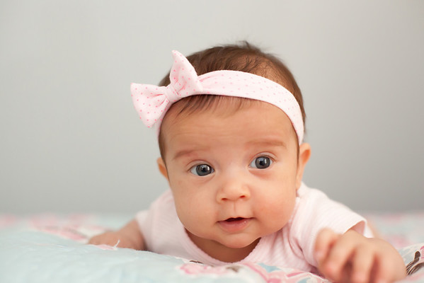 Audrey Photoshoot - 2 months old