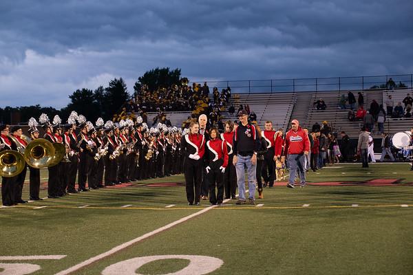 '18 Chardon Band Senior Night